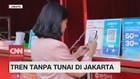 VIDEO: Tren tanpa Tunai di Jakarta