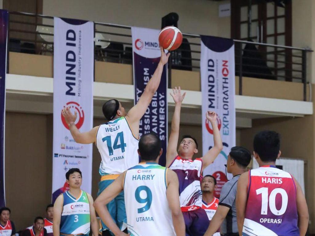Holding Tambang BUMN MIND ID Gelar Kompetisi Olahraga