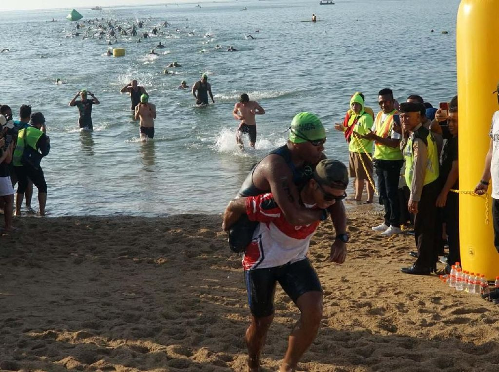 Bali International Triathlon 2019, sebuah acara berskala internasional dan telah menjadi atraksi sport tourism baru di Indonesia ini berhasil memenuhi ekspektasi dan animo pecinta olahraga triathlon dari dalam dan luar negeri serta masyarakat umum.
