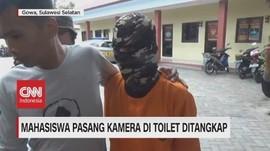 VIDEO: Pasang Kamera di Toilet Kampus, Mahasiswa Ditangkap