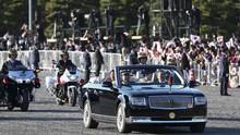 FOTO: Parade Kendaraan Penobatan Kaisar Jepang