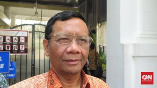 Mahfud MD Sebut Jurnalis Mongabay Telah Dibebaskan
