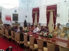 KPU Lapor Hasil Pelaksanaan Pemilu 2019 ke Jokowi