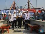 Intip Penampakan Jembatan Lengkung LRT Terpanjang di Dunia