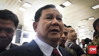 Prabowo Minta Dana Prajurit Tak Kena Imbas Kasus Asabri