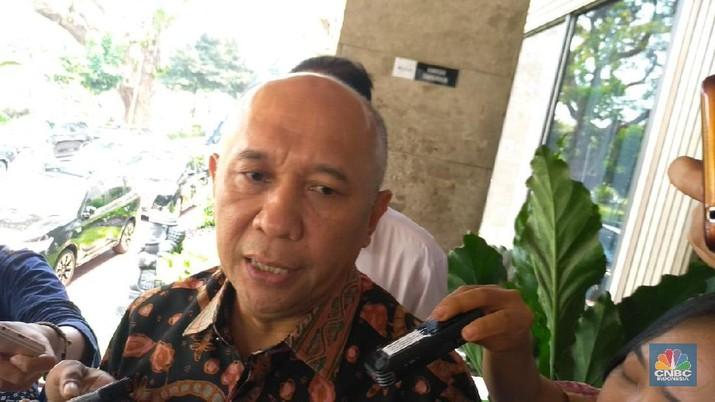Menteri Koperasi dan Usaha Kecil dan Menengah Indonesia Teten Masduki (CNBC Indonesia/Cantika Dinda)