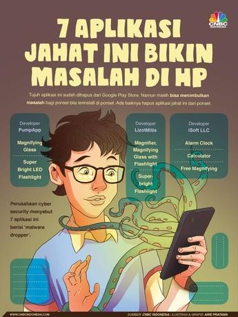 7 Aplikasi ini Berbahaya Bagi Ponsel Kamu, Hapus Segera!
