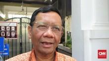 Mahfud Harap Larangan Eks Napi Berlaku Juga untuk DPR dan DPD