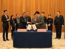 PGN & Sinopec Tanda Tangan Perjanjian, RI Ekspor LNG ke China