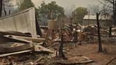 Akibat asap karhutla, Dinas Pemadam Kebakaran Pedesaan NSW mengumumkan kondisi darurat selama tujuh hari. (Photo by PETER PARKS / AFP)