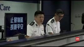 VIDEO: Polisi Hong Kong Tak Minta Maaf Usai Tembak Pedemo