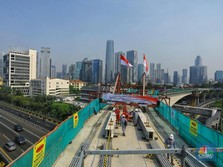 Top Markotop! Longspan LRT Jabodebek Cetak Rekor Terpanjang