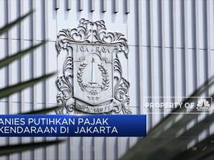 Wow, Anies Putihkan Pajak Kendaraan di Jakarta