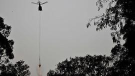 Helikopter Jatuh Saat Padamkan Karhutla di Australia