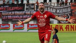 Hasil Liga 1 2019: Persija Kalahkan Persela 4-3