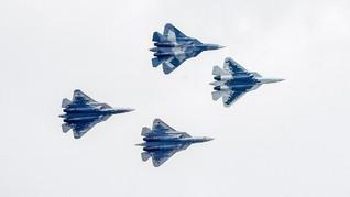 Rusia Akan Rilis Jet Tempur Su-57 Generasi Kelima