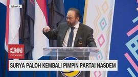 VIDEO: Surya Paloh Kembali Pimpin Nasdem