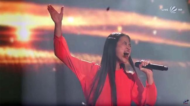 Claudia Santoso, Mojang Cirebon yang Juarai The Voice Jerman