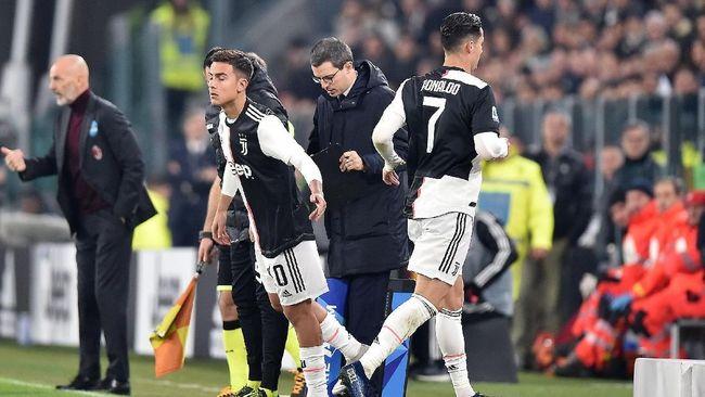 Kabur Saat Juventus vs Milan, Ronaldo Berisiko Kena Sanksi