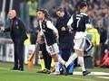 Ronaldo Marah Usai Ditarik Keluar di Laga Juventus vs Milan