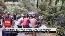 VIDEO: Mayat Pria Dalam Koper Ditemukan Warga di Bogor