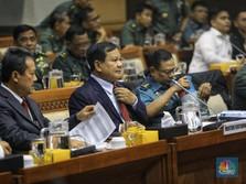Begini Gaya Menhan Prabowo Dalam Rapat Pertama dengan DPR RI