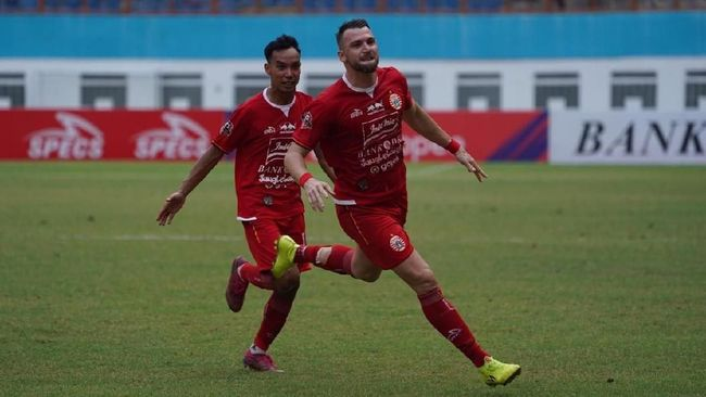 Hasil Liga 1: Simic Quattrick, Persija Tekuk Borneo FC 4-2