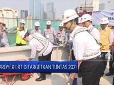 Proyek LRT Ditargetkan Tuntas 2021
