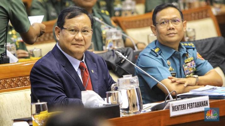 Hal itu disampaikan Prabowo saat menghadiri rapat kerja dengan Komisi I DPR RI di ruang rapat Komisi I, Gedung Nusantara II, Kompleks Parlemen, Senayan.