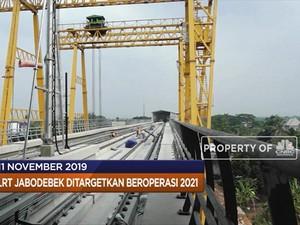 LRT Jabodebek Beroperasi Tahun 2021 hingga Evo Morales Mundur