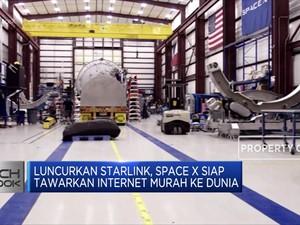 Yuk, Lihat Canggihnya Roket & Satelit Terbaru Space X!