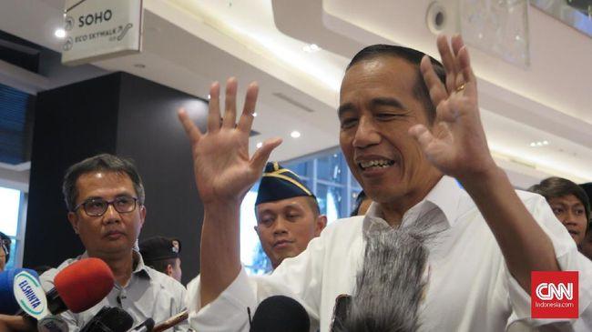 LSI Denny JA: Kepercayaan Publik Terhadap Jokowi Menurun
