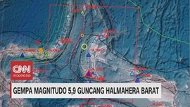 VIDEO: Gempa Magnitudo 5,9 Guncang Halmahera Barat