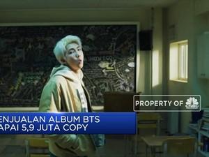 Daebak! Penjualan Album BTS Raih 5,9 Juta Copy