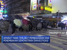 Hong Kong Investigasi Polisi Penembak Demonstran