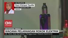 VIDEO: Dokter Spesialis Paru Bicara soal Rokok Elektrik