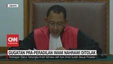 VIDEO: Gugatan Pra-Peradilan Imam Nahrawi Ditolak