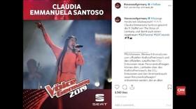 VIDEO: Detik-Detik Caludia Santoso Juara The Voice di Jerman