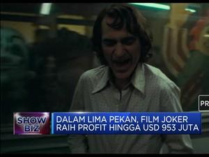 Joker Raih Rekor Film Adaptasi Paling Menguntungkan