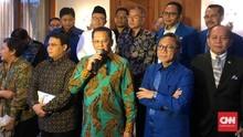 Zulhas ke Bamsoet: Salam Sejahtera Calon Ketua Umum Golkar