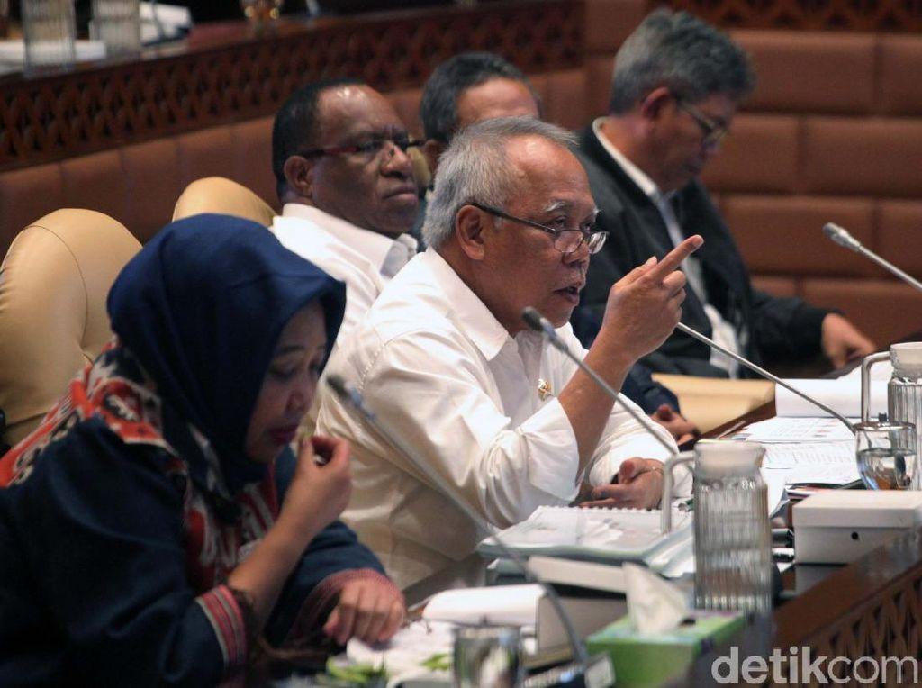 Di Depan Komisi V, Menteri PUPR Ungkap Rencana Pangkas Eselon IV