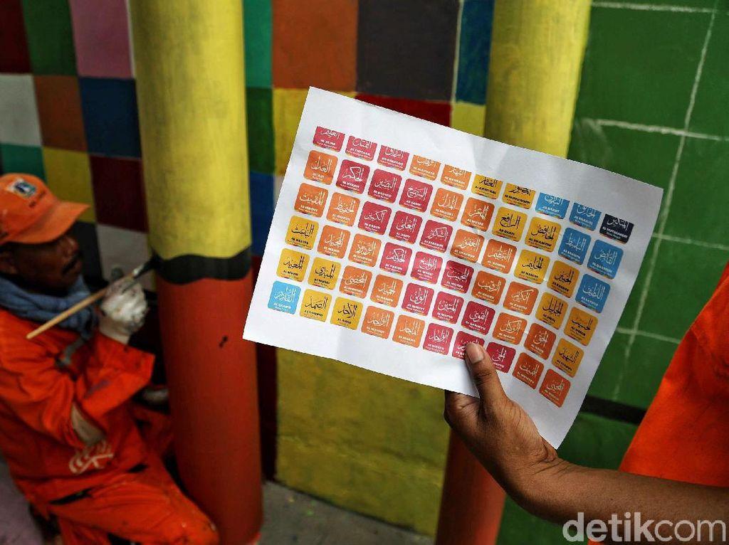 Perlu diketahui saat ini Jakarta Utara sedang membuat mural dengan mengusung tema edukasi di tiap kampung wilayah pesisir Jakarta.