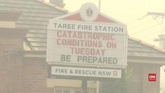 VIDEO: Kebakaran dan Angin Kencang Tingkatkan Suhu Australia