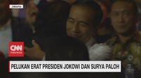 VIDEO: Pelukan Erat Presiden Jokowi dan Surya Paloh