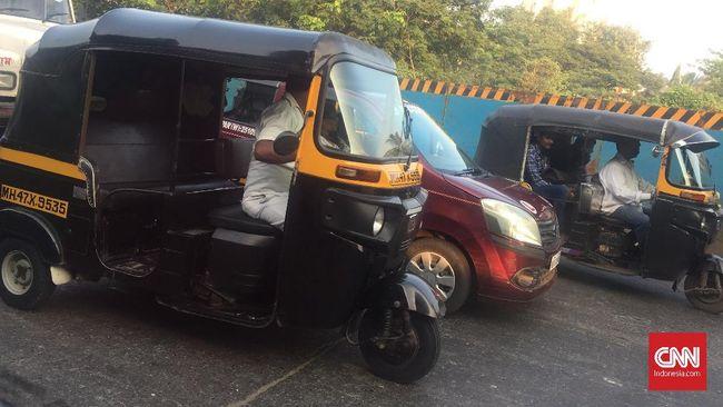 'Perang' Klakson di Kota Mumbai