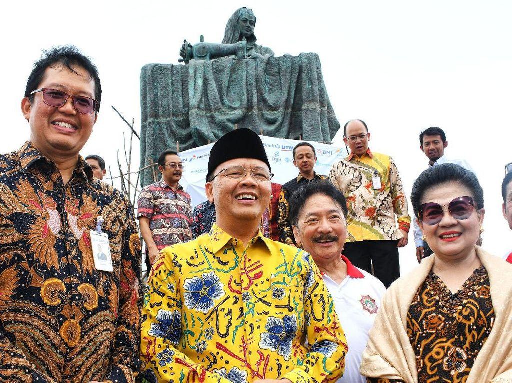 Patung ini diharapkan menjadi icon kota Bengkulu sekaligus menjadi momentum dalam memberi nilai tambah sebagai destinasi sejarah bangsa yang menjadi kebanggaan masyarakat Bengkulu. Foto: dok. Pemprov Bengkulu