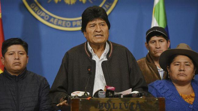 Eks Presiden Bolivia Evo Morales Kabur ke Meksiko Usai Mundur