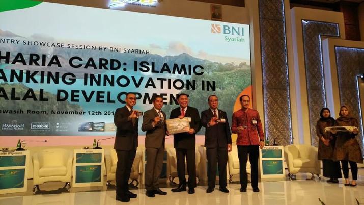 BNI Syariah menargetkan ada 370 ribu kartu kredit IB Hasanah yang diterbitkan hingga akhir tahun dengan total outstanding mencapai Rp 370 miliar.