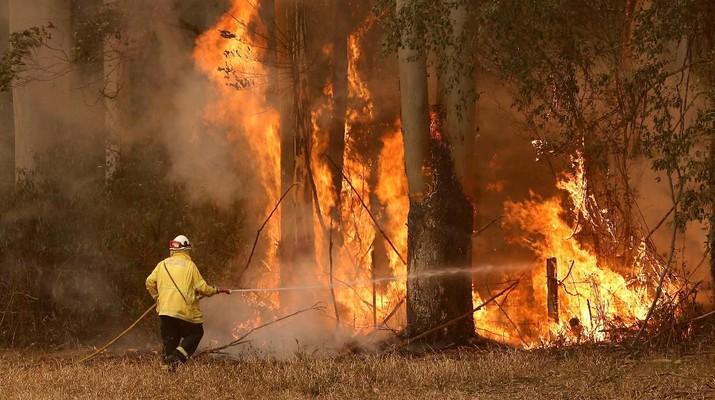 Pekan ini, suhu Australia berada di titik terpanasnya sepanjang sejarah. Kondisi ini dikhawatirkan memperburuk kebakaran hutan yang sudah terjadi.