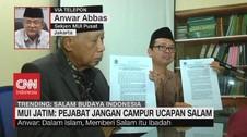 VIDEO - Sekjen MUI: Dalam Islam, Memberi Salam Itu Ibadah